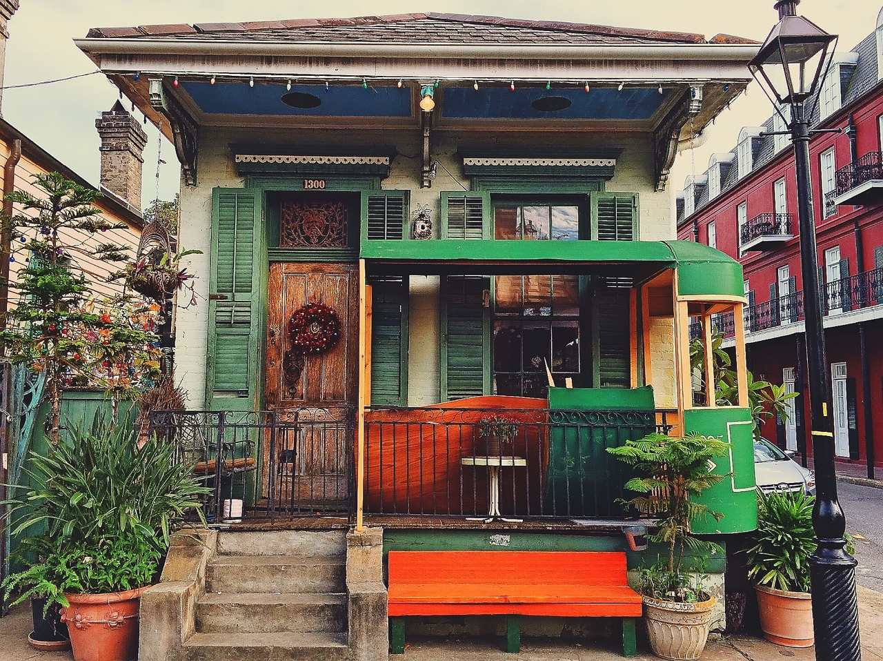a new orleans house