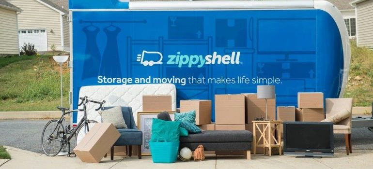 zippy shell storage, representing louisiana storage units
