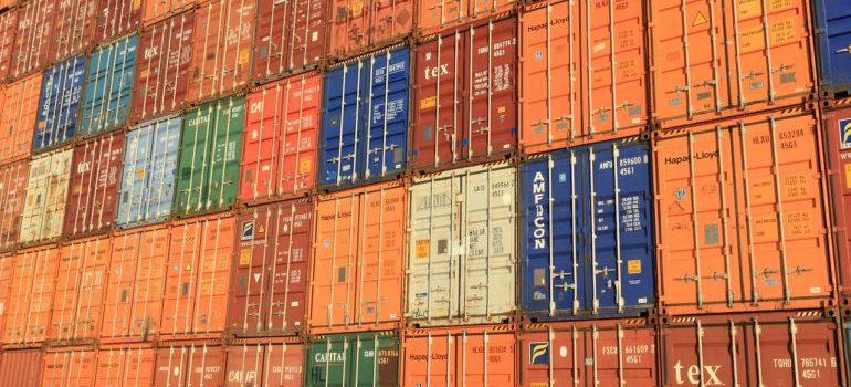 Elmwood self storage containers