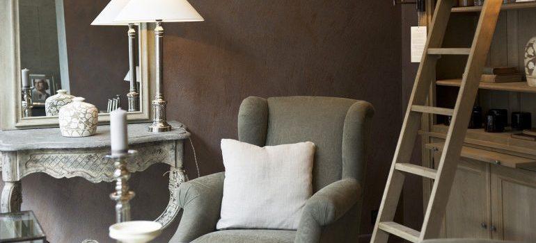 Living room furniture to store in storage units Hammond LA.