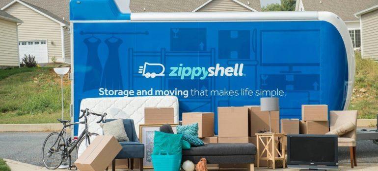zippy portable on site storage unit