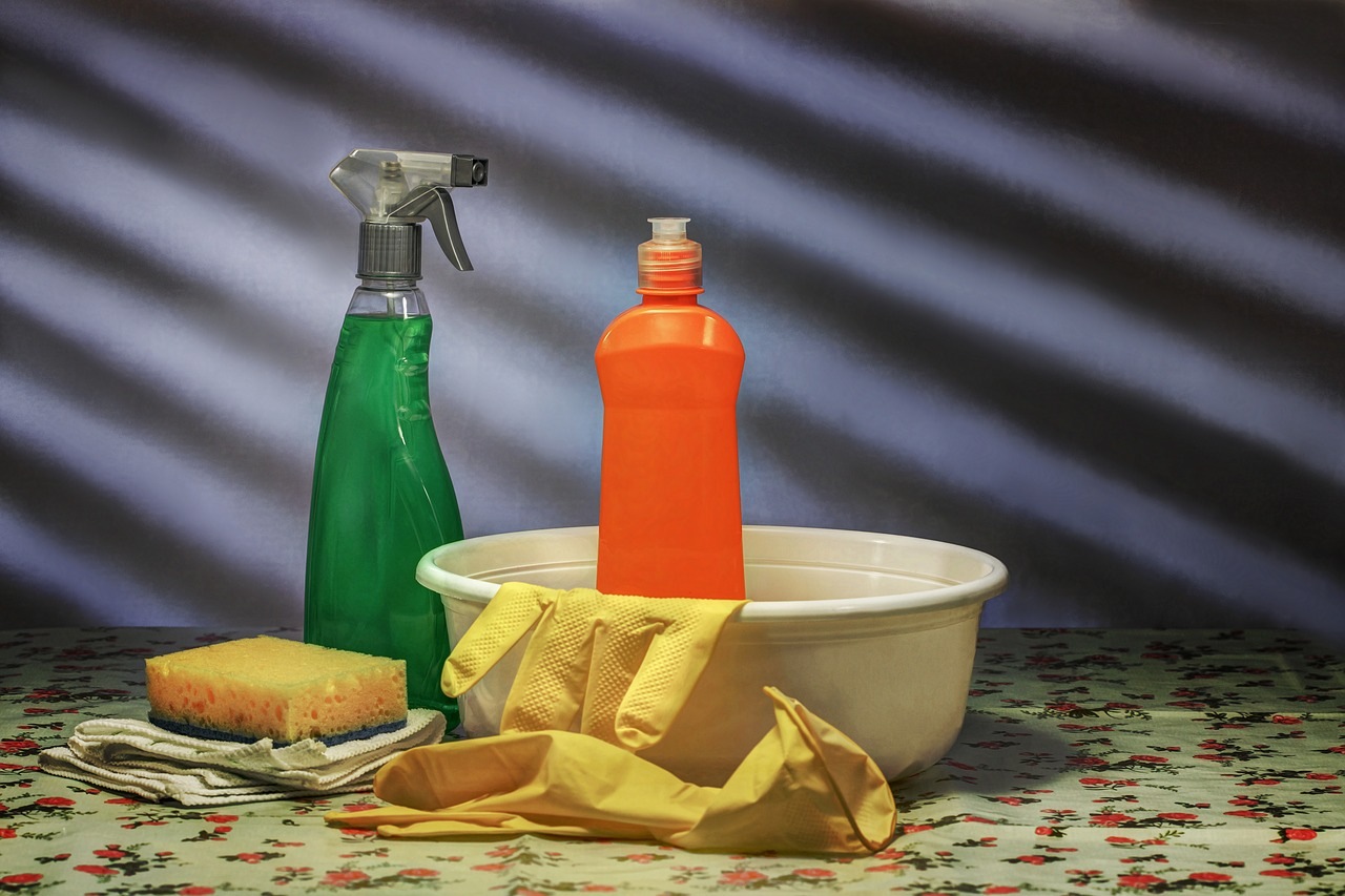 cleaning supplies that will help you disinfect your storage unit in Bossier City