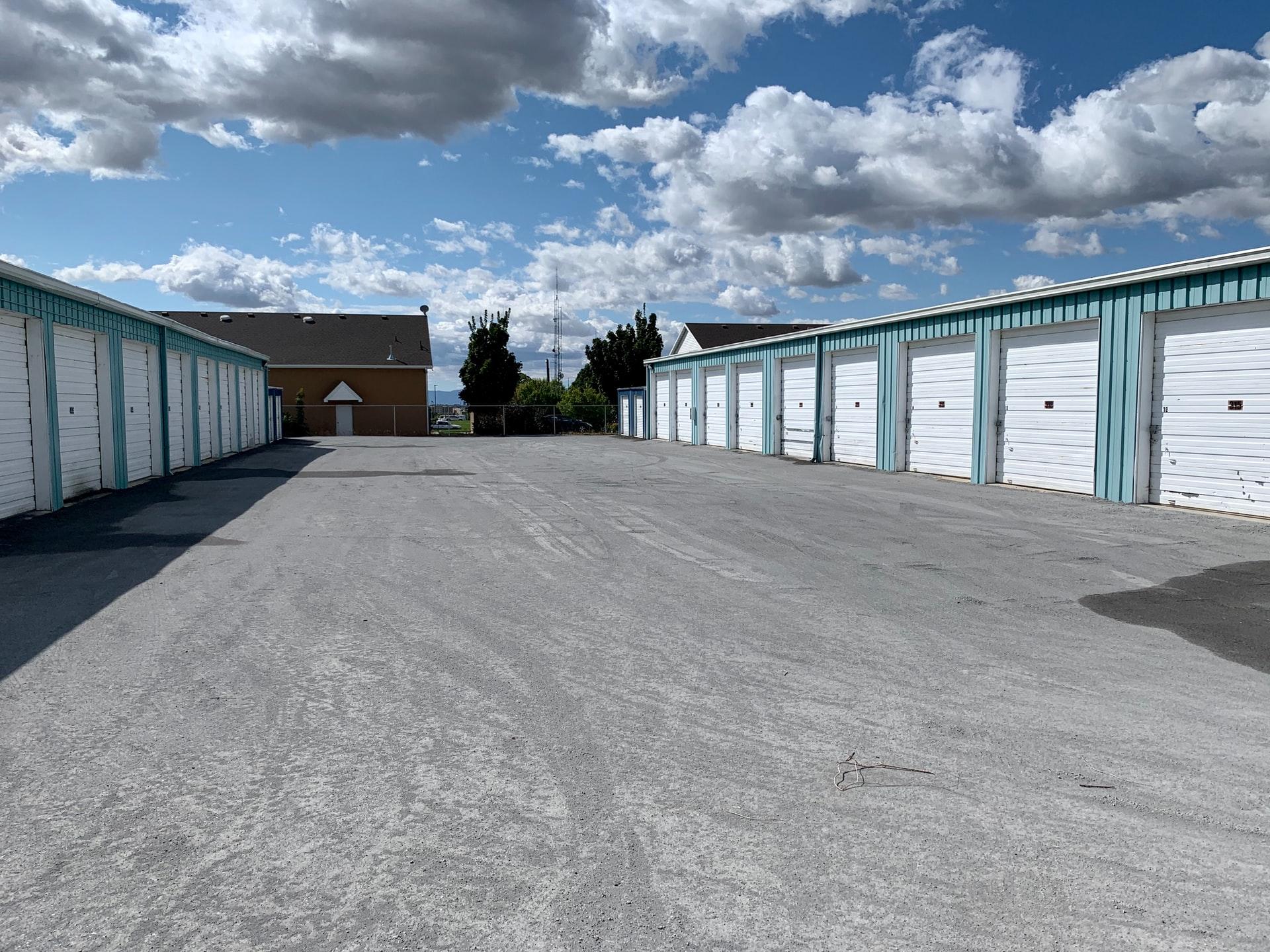 A storage unit facility