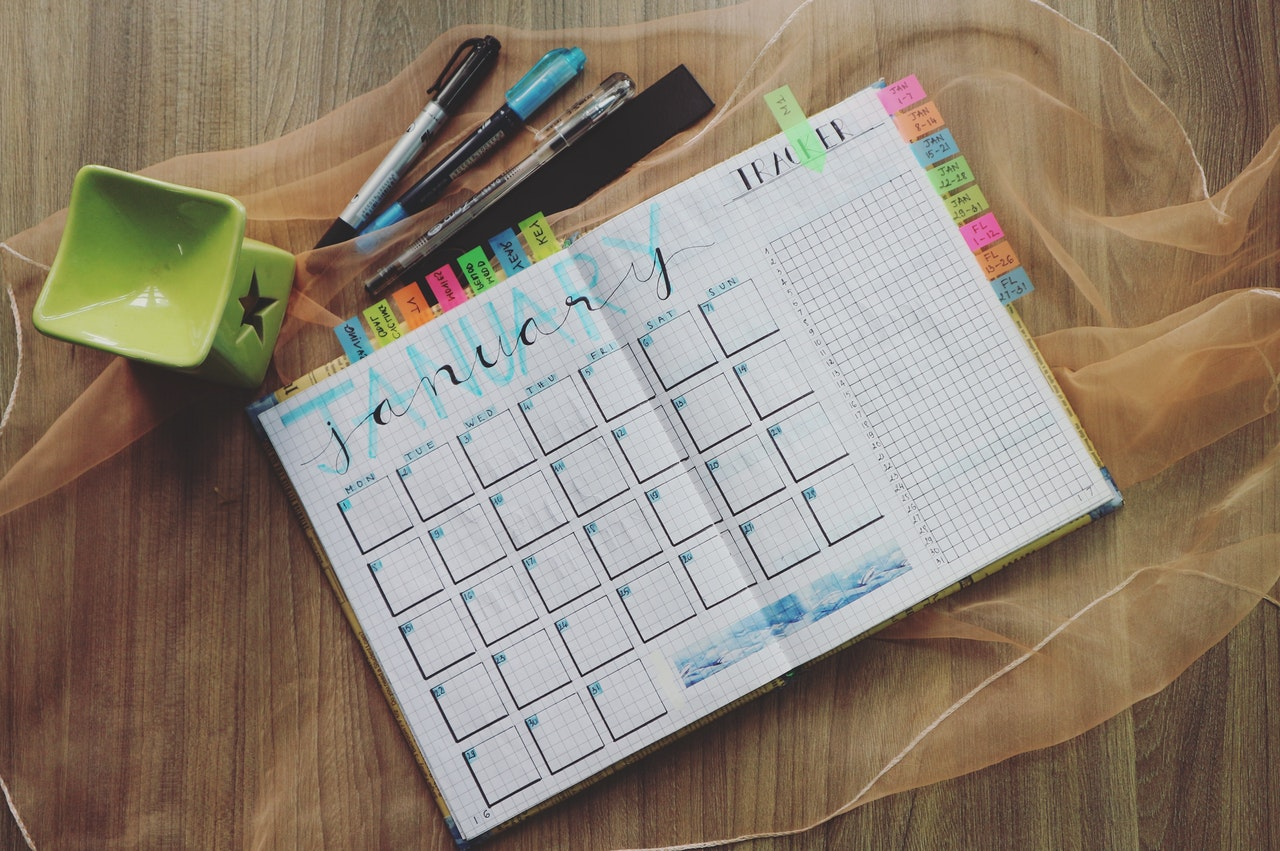 Decide on how you want to spend time in Lake Charles and write it down in a calendar!