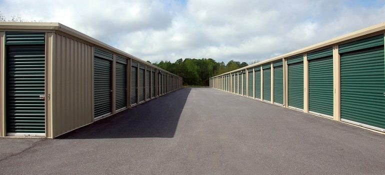 Picture of storage units