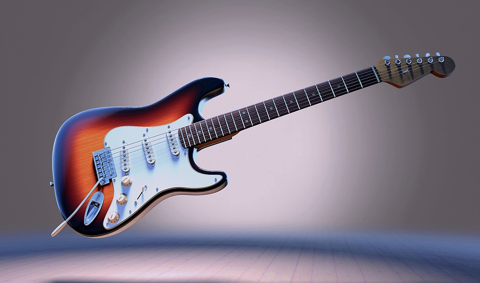 Electric guitar and how to store musical instruments in Bossier City